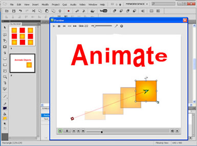Captivate Training in Los Angeles - Animate Text, animate objects and more in Captivate Training in Los Angeles