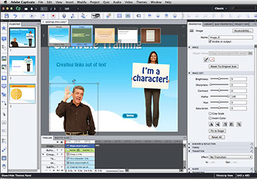 Captivate Training in Los Angeles - Create Presentations, import and crop images and more in captivate Training level 2 in Los Angeles