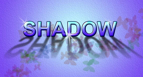 Shadow Text - Create Drop Shadows and Transform Text in our Photoshop Class.