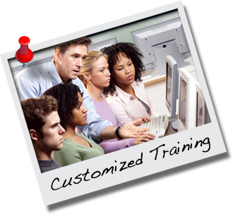 Onsite Custom Computer Training at your location or ours. In person or LIve, Online